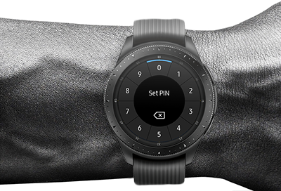 Samsung Pay PIN for Watches