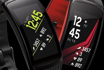 Customize Your Gear Fit2 or Fit2 Pros Display Settings