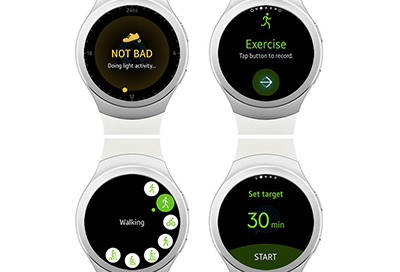 Workout Programs on a Wearable