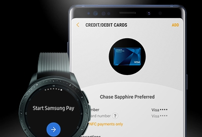 Register Payment Cards For Use On the Watch