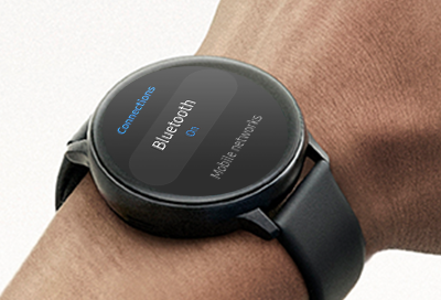 Bluetooth screen on Galaxy Watch Active 2
