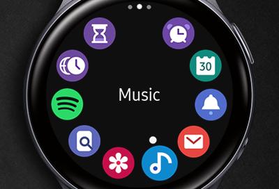 Galaxy Watch Active2 Music app