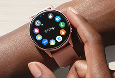 Apps on Galaxy Watch Active 2