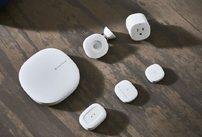 SmartThings hub and connections