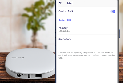 Custom DNS with SmartThings