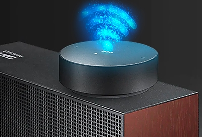 Samsung Hi-fi Speaker connecting with Bluetooth