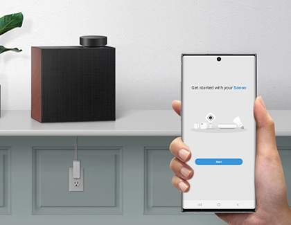 Samsung Hi-Fi speaker connecting to SmartThings app