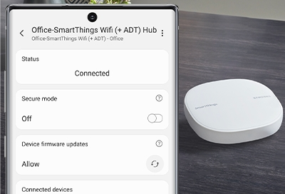 Update the SmartThings Wifi Hub
