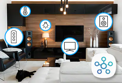 Manage devices with SmartThings