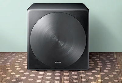 Connect the subwoofer to your soundbar on