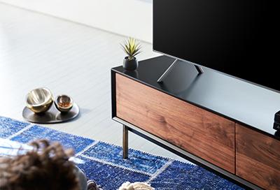 TV has a blank screen