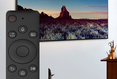 Samsung Smart Remote and TV