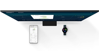 Connect mobile devices with Samsung Health on TV