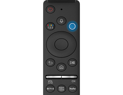 Press Ambient Mode button on Samsung Smart Remote