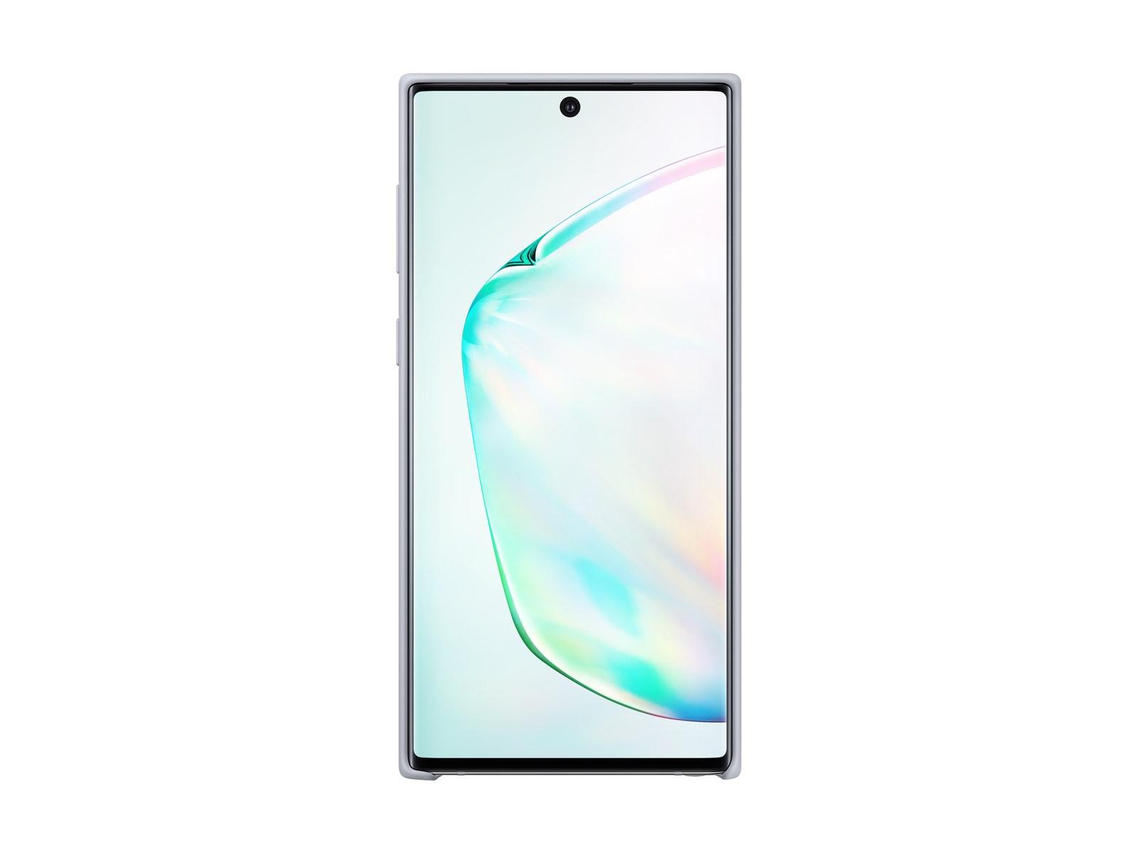 Galaxy Note10 Silicone Cover, Silver
