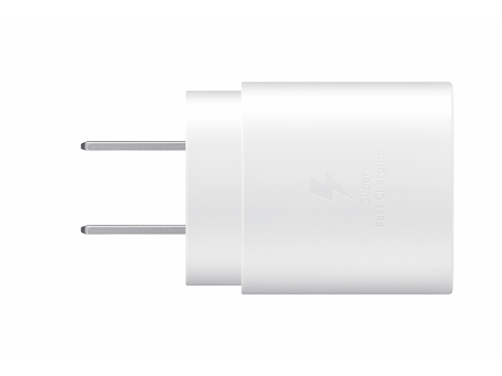 25W USB-C Fast Charging Wall Charger, White