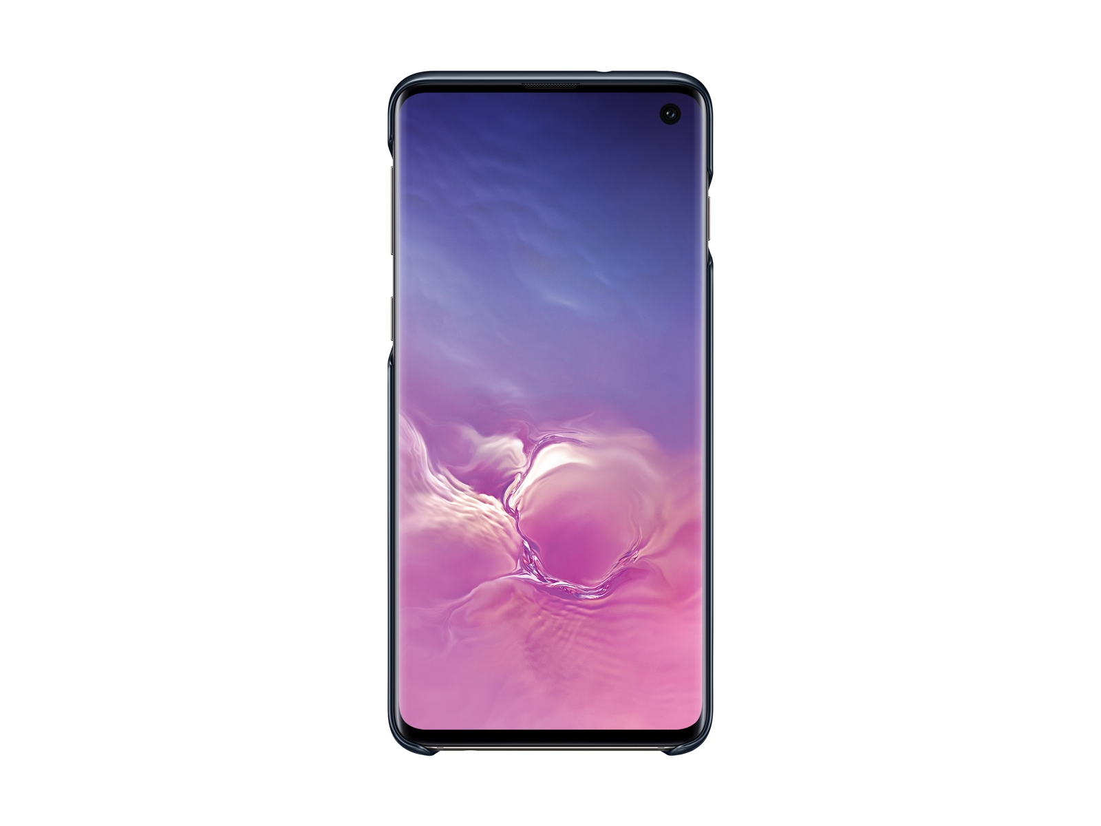 Galaxy S10 LED Back Cover, Black