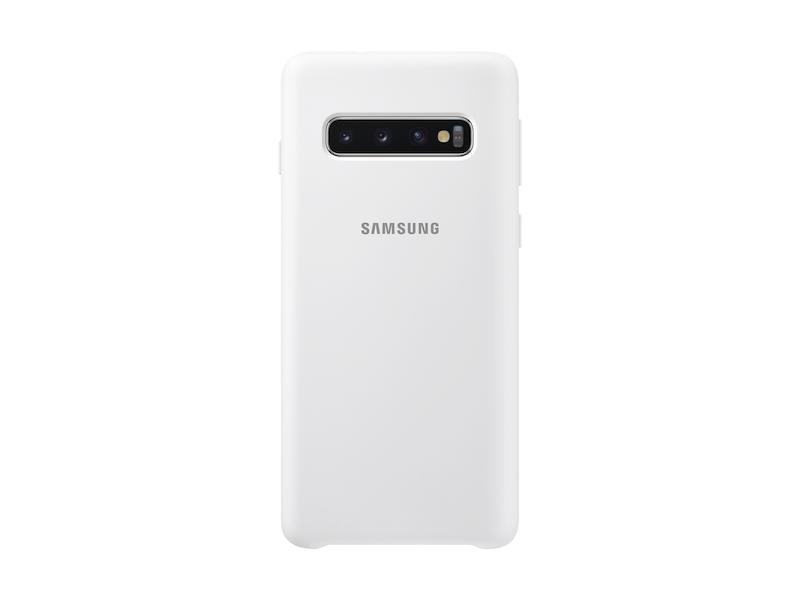 Galaxy S10 Silicone Cover, White