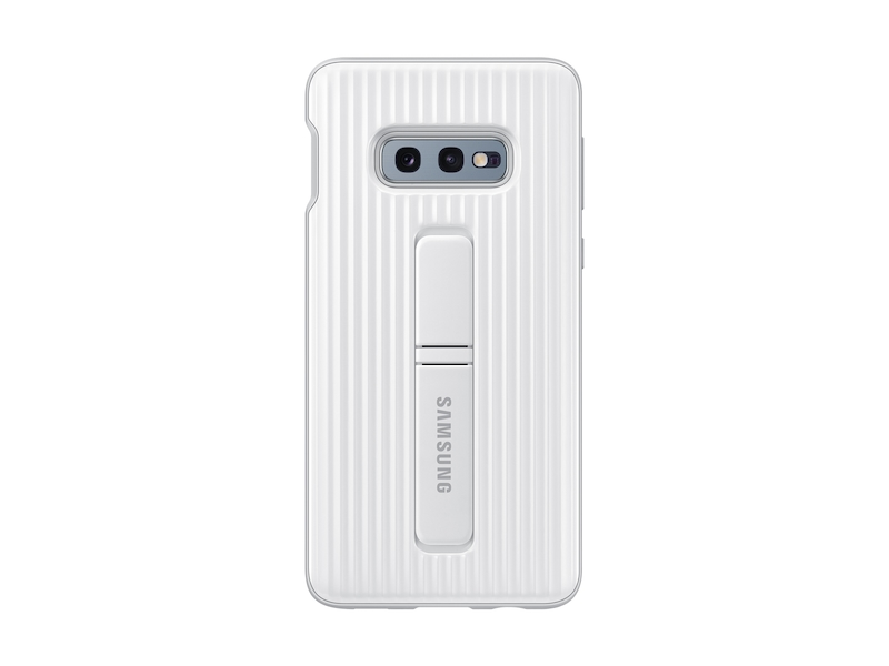 reputable site 02019 ac60a Galaxy S10e Rugged Protective Cover, White