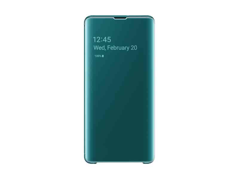 Galaxy S10+ S-View Flip Cover, Green
