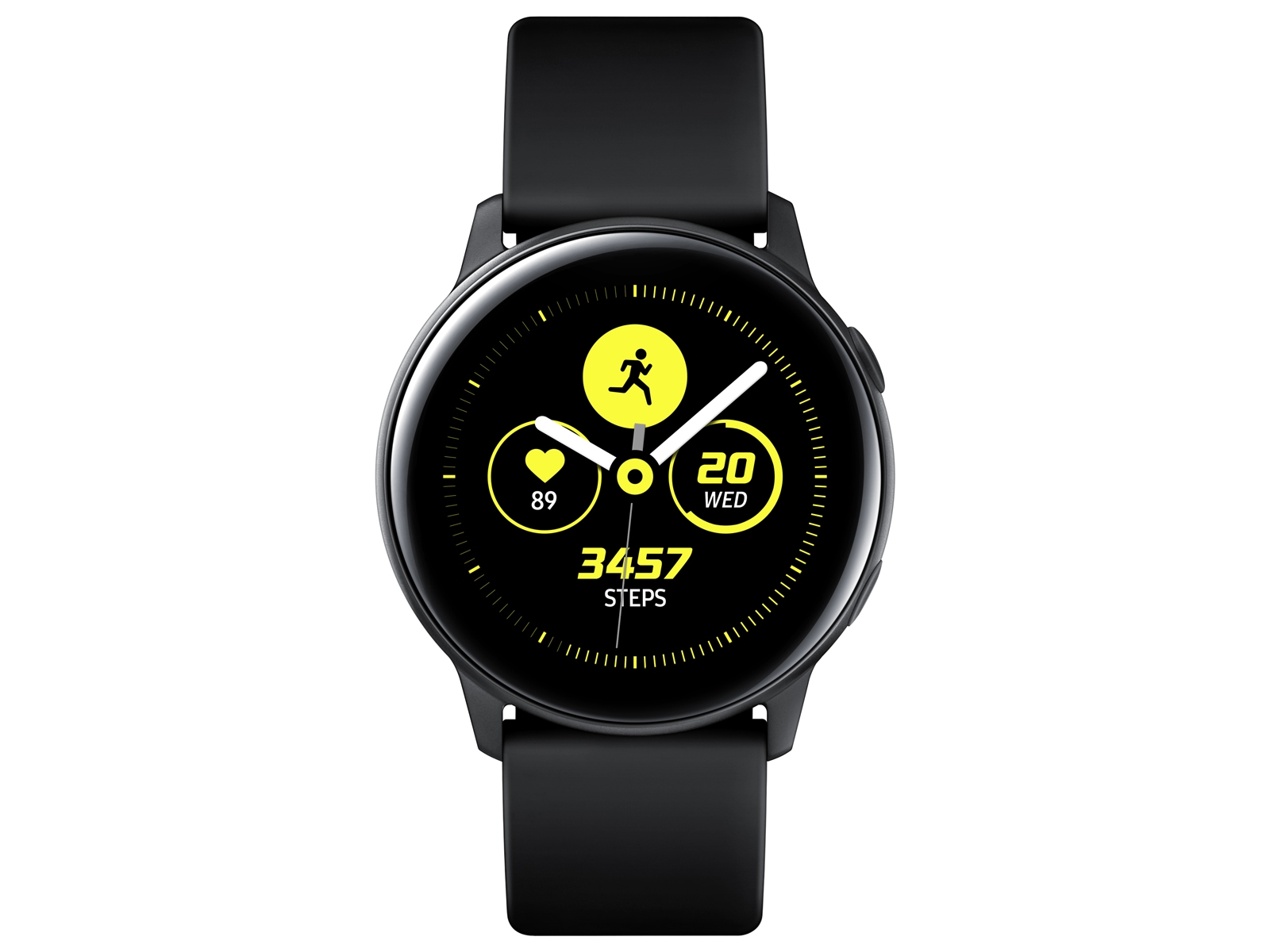 ef9046132 Galaxy Watch Active (40mm) Black Wearables - SM-R500NZKAXAR | Samsung US