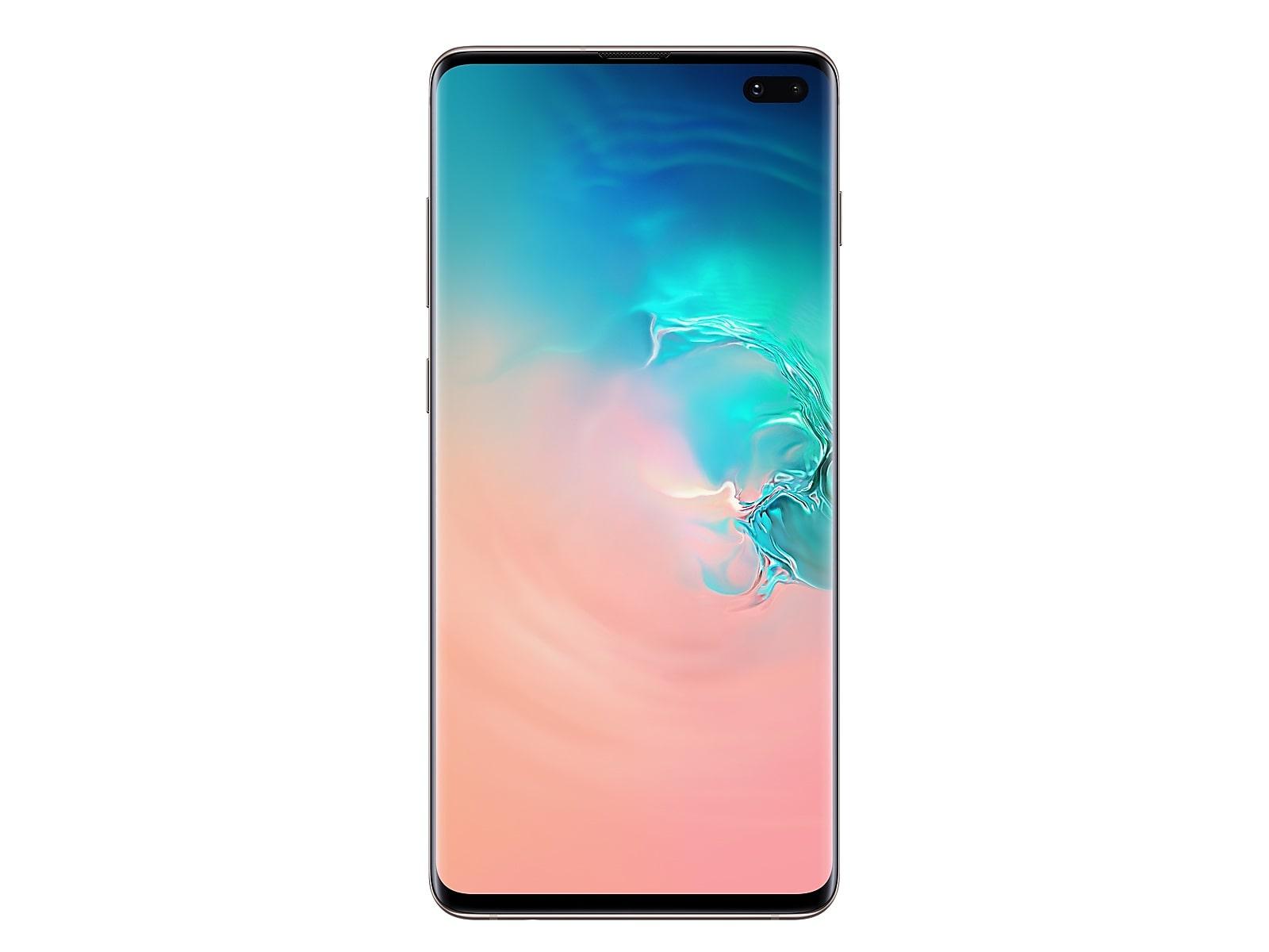 Samsung Galaxy S10+ 1TB in Ceramic White (US Cellular) (SM-G975UCWFUSC)