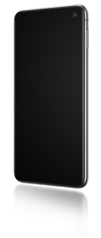 Samsung Galaxy S10 with Biometric Authentication and Ultrasonic Fingerprint ID with Colorful Phone Display Screen