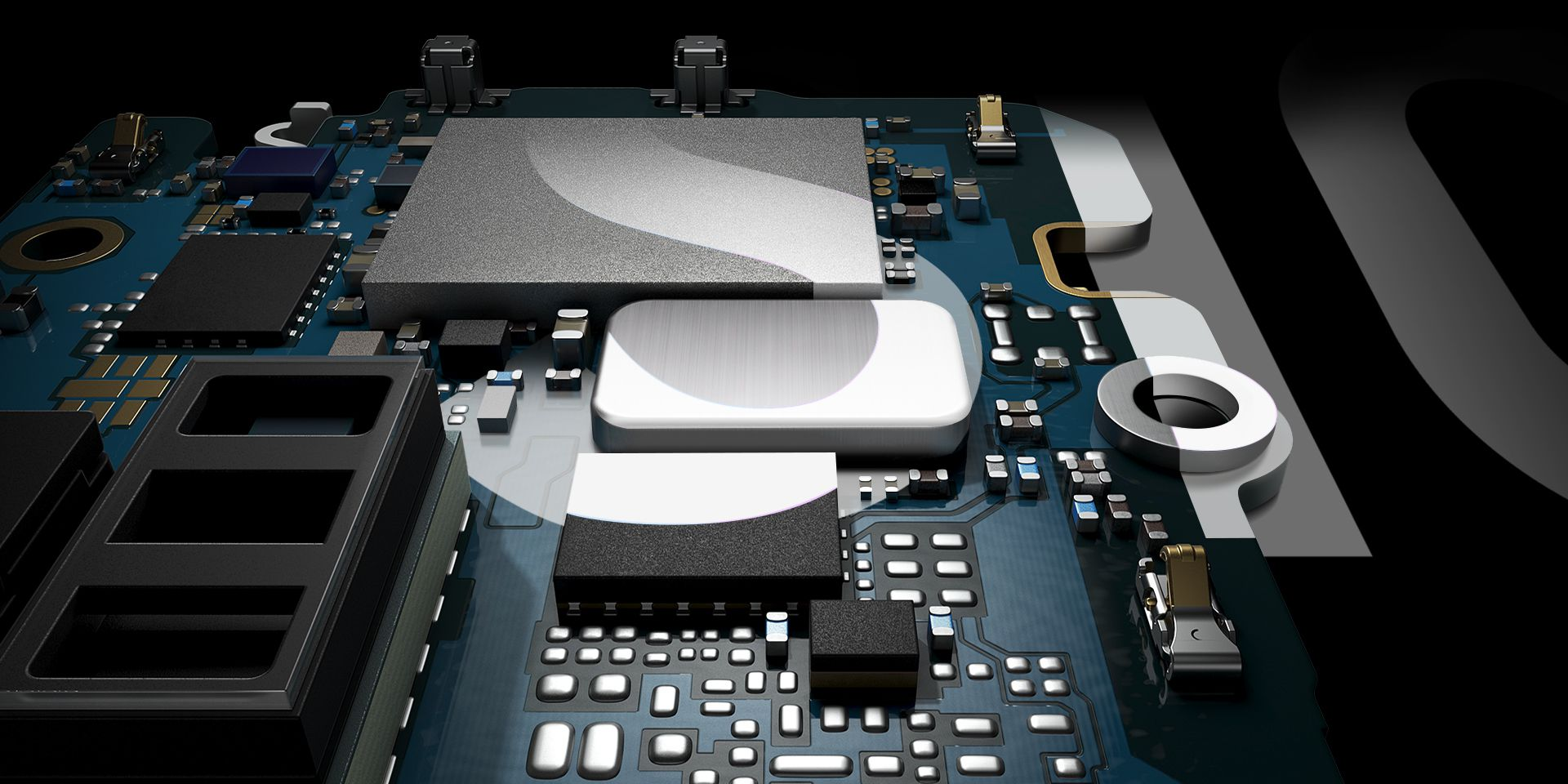 Samsung Galaxy S10 With Next Generation Hardware - Abstract Image of Computer Components