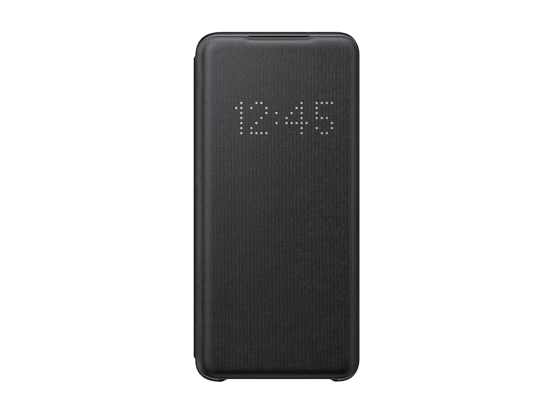 Galaxy S20 5G LED Wallet Cover, Black