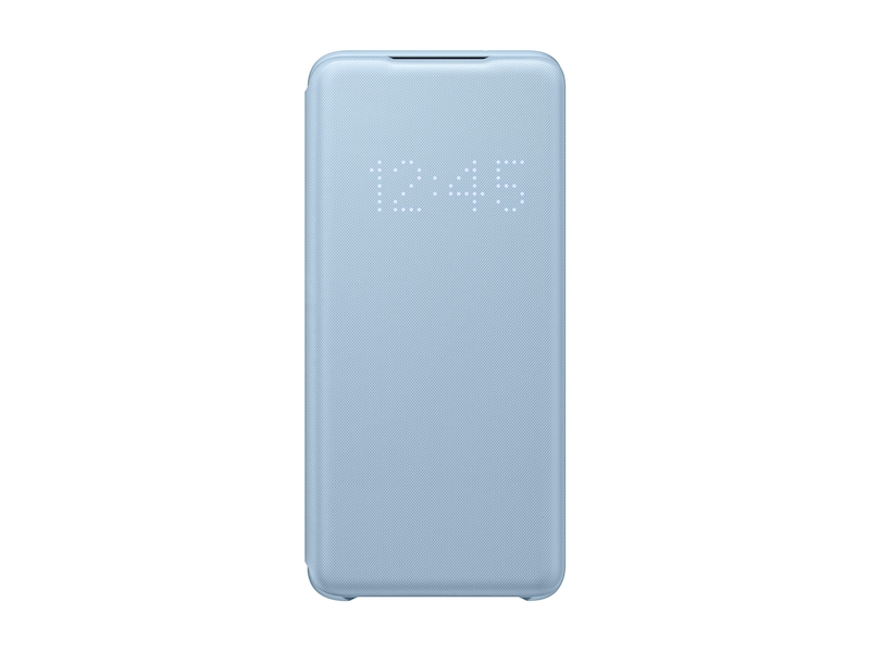 Galaxy S20 5G LED Wallet Cover, Blue
