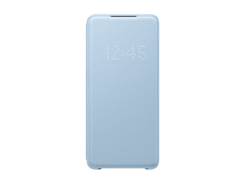 Galaxy S20+ 5G LED Wallet Cover, Blue