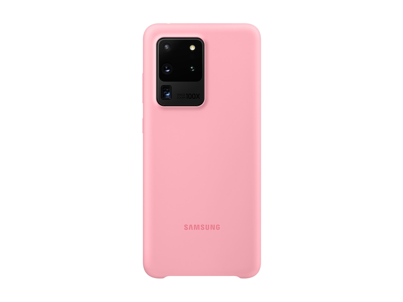 Galaxy S20 Ultra 5G Silicone Cover, Pink