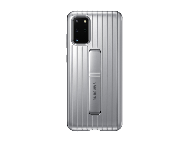 Galaxy S20+ 5G Rugged Protective Cover, Silver