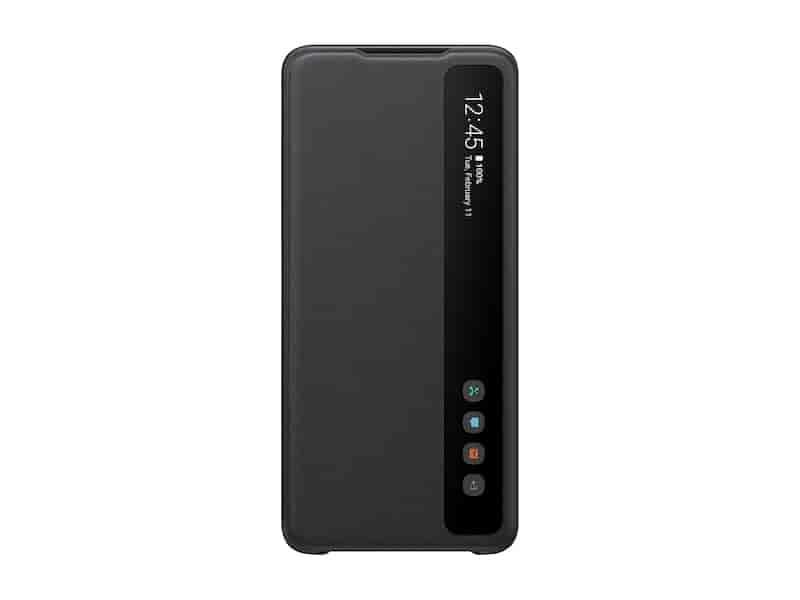 Galaxy S20 Ultra 5G S-View Flip Cover, Black
