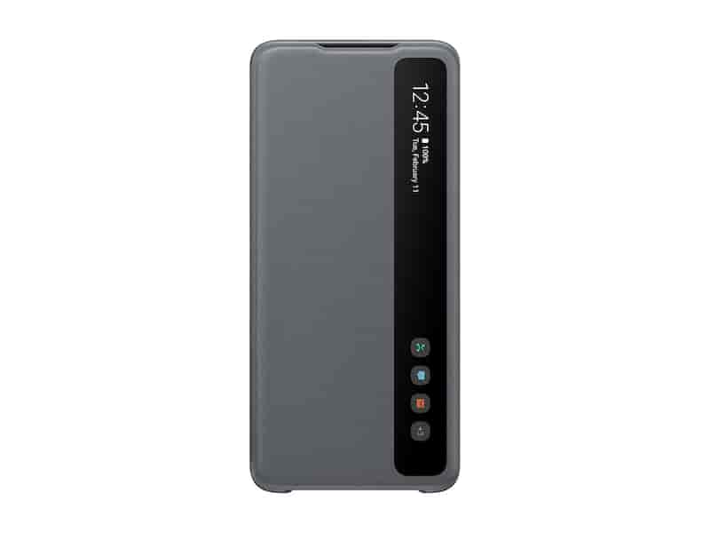 Galaxy S20 Ultra 5G S-View Flip Cover, Gray