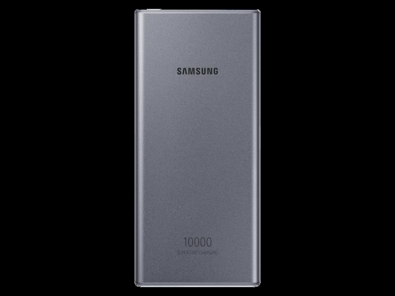 25W Portable Battery, Silver