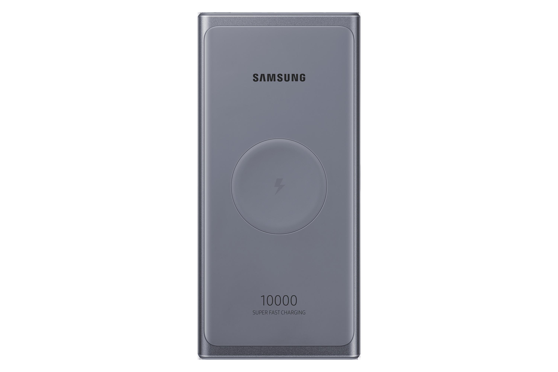 Samsung 25W Wireless Portable Battery, Silver